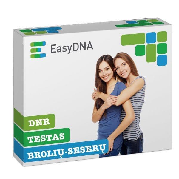 DNR brolių-seserų testas