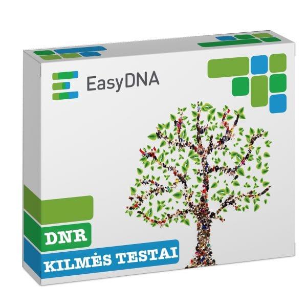 DNR kilmės testai